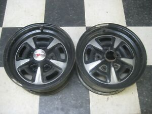 1969 79 Pontiac 14x7 Rally Ii Wheel Rim Js Pair