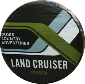 Spare Wheel Tire Cover 17inch For Land Cruiser Heavy Duty Vinyl Cover 32 33