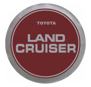 Spare Tire Cover 17inch For Land Cruiser Red Heavy Duty Vinyl Cover 32 33