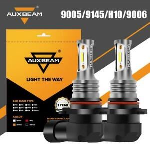 Auxbeam 9005 9145 9140 H10 9006 Universal Led Fog Bulb Lamp 6000k White Light