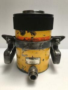 Enerpac Rch 603 Hydraulic Hollow Cylinder 60 Tons Capacity 3 Stroke 6