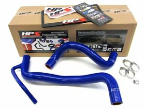 Hps Blue Reinforced Silicone Radiator Hose Kit Coolant For Scion 2008 2015 Xb