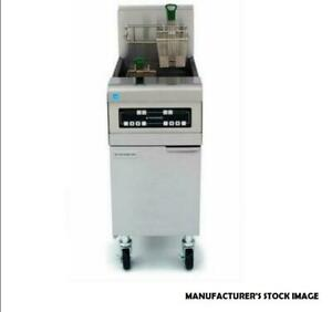 Frymaster Commercial 50 Lb Natural Gas Deep Fryer Model Ph155 W Ss Cabinet