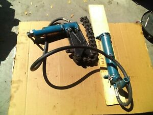 Wheeler rex 2990 Hydraulic Soil Waste Pipe Cutter Chain Snap With Carrying Case