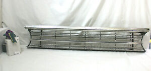 1967 67 Plymouth Belvedere Ii Oem Front Grille Grill
