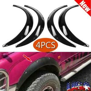 4pcs set Car Front Rear Fender Flares Extra Wide Body Wheel Arches Universal