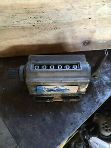 Veeder root Mechanical Counter Totalizer 16672six 6 Digit