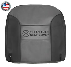 1999 2000 Chevy Tahoe Limited Driver Side Bottom Vinyl Seat Cover 2 Tone Gray
