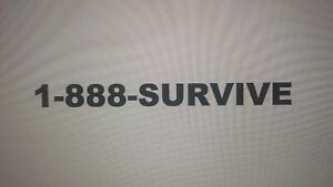 1 888 survive Toll free Vanity Phone Number Extremely Rare