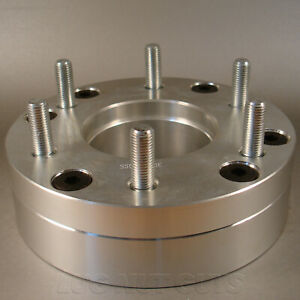 4 Wheel Adapters 5x5 To 6x135 2 Thick Spacers 5 Lug To 6 Lug Ford
