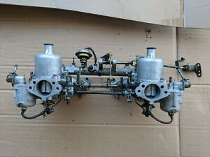 70 72 Datsun 240z Round Top Su Carburetors With E88 Manifold And Linkage