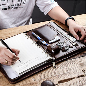 Genuine Leather Padfolio Ipad Case For Apple Ipad 10 5 Business Portfolio New