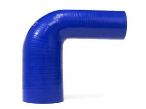 Hps Blue Silicone 90 Degree Elbow Reducer Hose 4 ply Reinforced 38mm 48mm Id