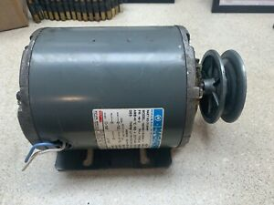 Marathon Electric Blower Motor 712449 1 4hp 60hz 1725 Rpm 115v Belt Drive