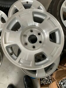 07 14 Chevy Silverado Tahoe 17 X 7 5 Alloy Rim Wheel 5 Spoke Factory Oem Set 4