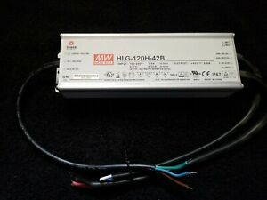 Led Power Supply Driver Dimmable 42v 2 9amp Mean Well Hlg 120h 42b