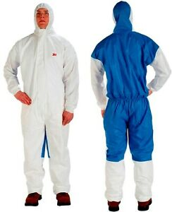 3m Disposable Personal Protective Hooded Coverall 4535 3xl