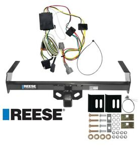 Reese Trailer Tow Hitch For 98 04 Nissan Frontier W Wiring Harness Kit