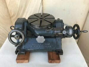 Sip Type Pi 3 9 Precision Tilting Rotary Table Societe Genevoise Swiss Made