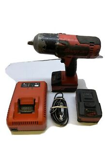 Snap On Ct8850 Impact Wrench With Two Batteries And Charger