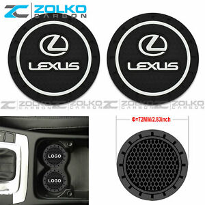 Coaster 2pc 2 75 Silicone Car Cup Holder Auto Insert Us Seller
