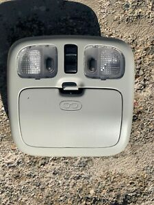 2001 2012 Ford Escape Dome Light Overhead Console With Sunroof Switch Oem Gray 1