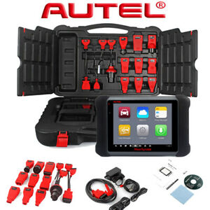 Autel Maxisys Ms906 Full Systems Scanner Auto Diagnostic Car Connectors Kit Tool