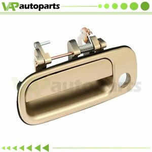 For 92 96 Toyota Camry Door Handle Gold Outside Front Left Driver Lh Exterior