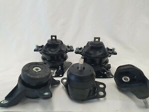 Automatic Transmission Engine Mounts Set 5pcs For Honda Accord 3 5l 17 13