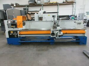 Summit Model 28x120b 28 X 120 Engine Lathe With Fagor 2 axis Digital Readout