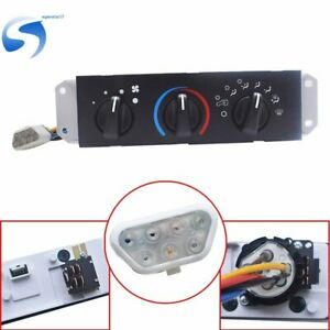 Hvac Ac A c Heater Control With Blower Motor Switch For Jeep Wrangler Tj