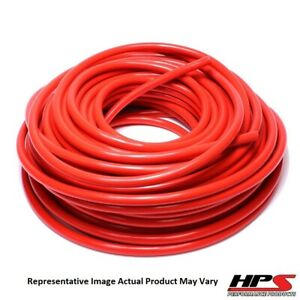 Hps 3 4 Id Red High Temp Reinforced Silicone Heater Hose Tubing 10 Feet Roll