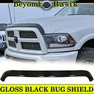For 2010 2018 Dodge Ram 2500 3500 Oe Mpr Black Bug Shield Deflector Hood Guard