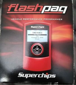 married 3842 Superchips Flashpaq F4 Tuner Programmer Dodge Gas diesel Truck