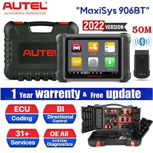 Autel Maxisys Elite Ms906bt Ecu Coding Tablet Scanner Auto Diagnostic Tool Ms908