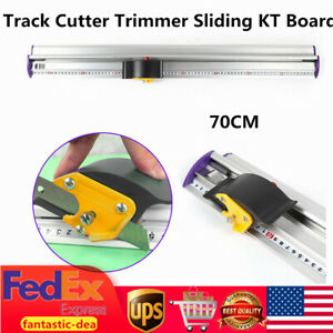 Track Cutter Trimmer Sliding Kt Board Cutting Ruler For Photo Paper Banners 70cm