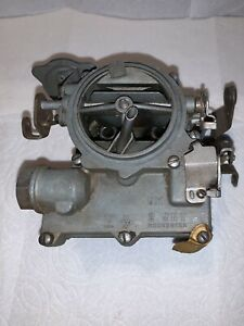 Rochester 2jet 1967 Gm Chevrolet 54 2bbl Carburetor Original Tag 7024110 Cd