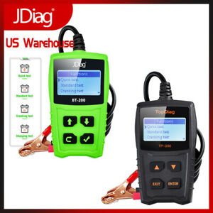 12v Car Battery Load Testers Automotive Battery Analyzer Tools 220ah 100 2000cca