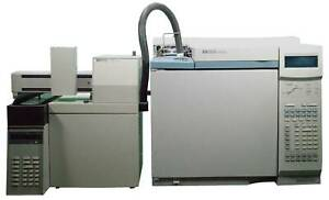 Agilent hp Gas Chromatograph 6890 And 7694 Headspace System