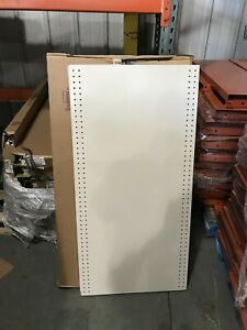 60x 4 Lozier Standard Deck Shelf Sd424n Plt Never Used 48 X 24