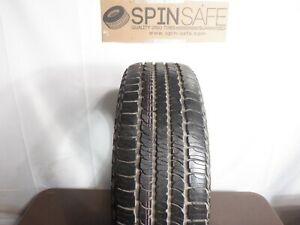 Set new 245 65r17 Goodyear Fortera Hl 105s 3405