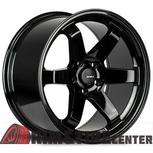 Avid1 Av06 17x8 35 5x114 3 Gloss Black set Of 4