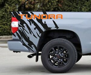 Custom Sticker Side Bed End Covers Graphics Decal For Toyota Tundra Left Right