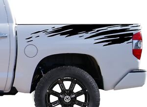 Mud Splash Decal Sticker Vinyl Body Graphics For Rear Bed Trucks Tundra Tacoma