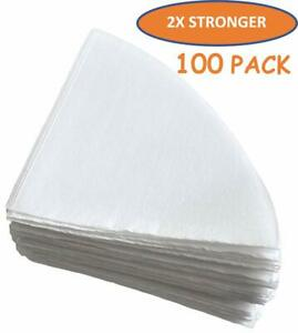 Tezpak ultra Strong 10 Grease Fryer Oil Filter Cones Package Of 100