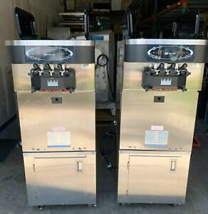 Air Cooled 2016 Taylor 1 Ph C723 27 Frozen Yogurt Soft Serve Ice Cream Machine
