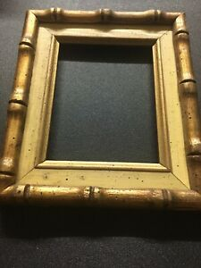 Wooden Gold And Brown 4x6 Picture Frame