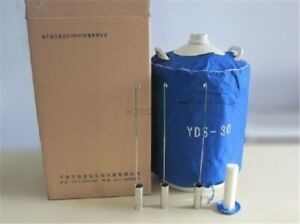 30l Liquid Nitrogen Ln2 Storage Tank Static Cryogenic Container With Sleeve Ih