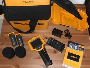 Fluke Ti32 320x240 Thermal Imaging Camera Extra Lenses Tele And Wide
