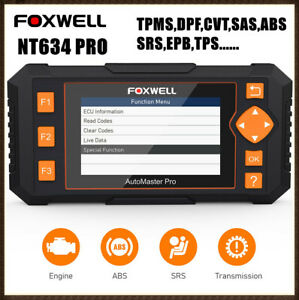 For Toyota Honda Full System Check Engine Code Reader Abs Srs Diagnostic Scanner